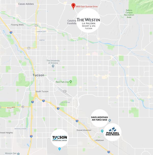 Tucson Event Map