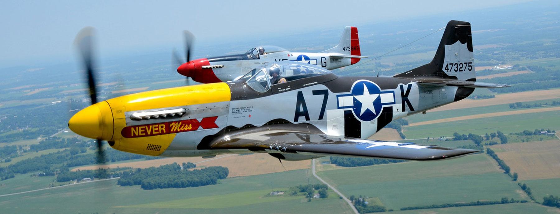 P-51s by Jack Tyson