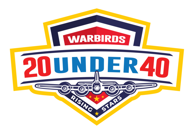 Warbirds 20 under 40 Logo Badge