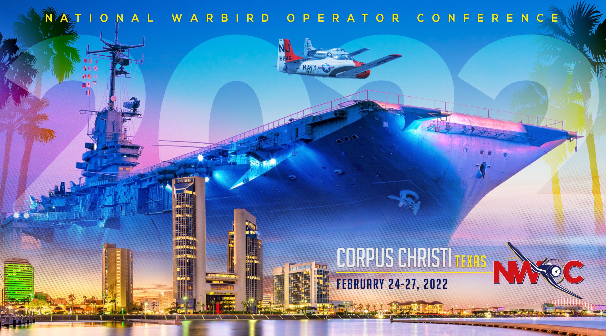 NWOC 2022 Corpus Christi 20x36 poster